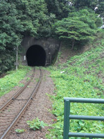 Kuji_ozashiki_train_tunnel